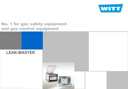 LEAK-MASTER Welcome page No. 1 for gas safety equipment and gas control equipment Leak_master_praes_uk_30722.