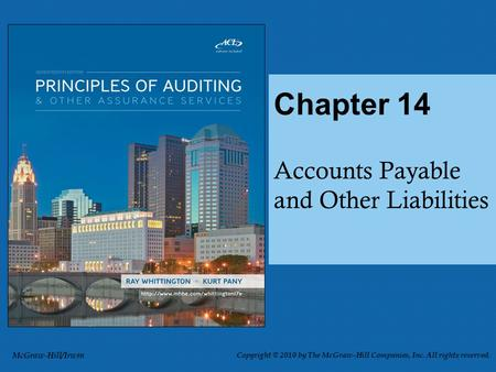 Sources of Accounts Payable