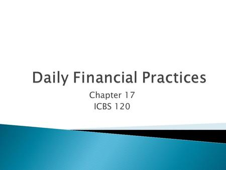 Chapter 17 ICBS 120.  Usually the responsibility of the medical assisting staff.  Discussion of Fees ◦ Fees vary depending on type of medical facility,