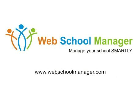 Web School Manager Fee Management Time Table