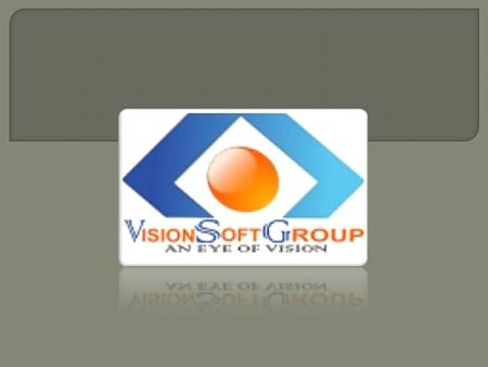 We are proud to take you to the next step in databank with Vision Soft Group (School Manager Software) - a Next Generation technology. Complete with Billing.