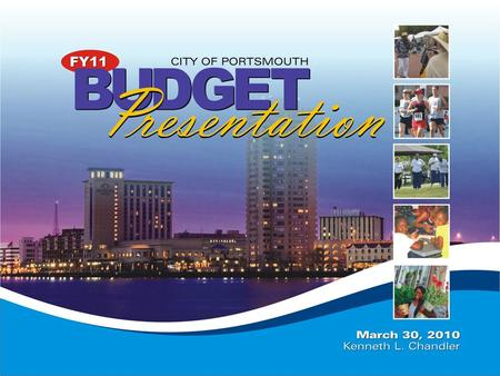 Briefing Purpose 2 To submit the amended FY11 City Manager's proposed FY10/FY11 Biennium Operating Budget and NEW five-year Capital Improvement Plan (CIP)