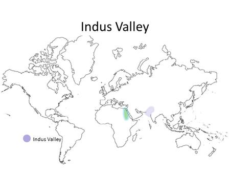 Indus Valley. The Indus and Ganges Rivers formed a fertile plain where this civilization emerged. But flooding was unpredictable & the river changed.