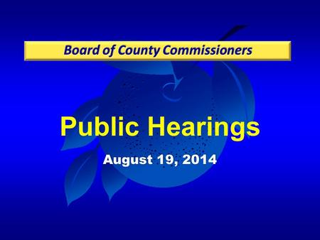 Public Hearings August 19, 2014. Case: PSP-13-09-241 Project: Village F Planned Development / Magnolia Estates Preliminary Subdivision Plan Applicant: