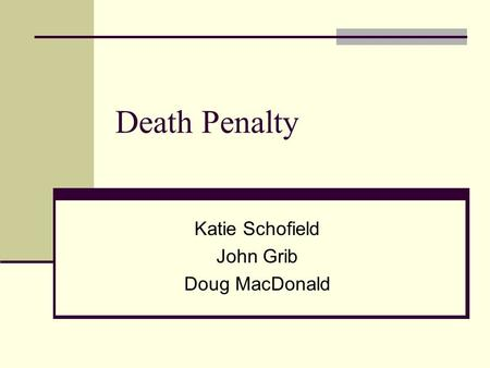 the death penalty is it justified