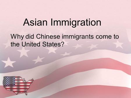 why are immigrants coming to america The pew global attitudes survey found that america's overall image improved significantly across much of the world over the last year, and mexico is no exception while slightly less than half (47%) expressed a positive opinion of the us in 2008, 69% do so now views of the american people also have become more positive since 2008.