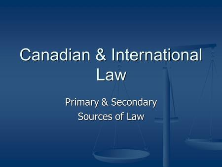 Greek Law Impact Canadian Legal System