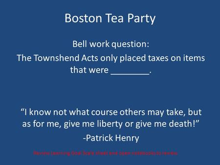 The Townshend Acts only placed taxes on items that were ________.