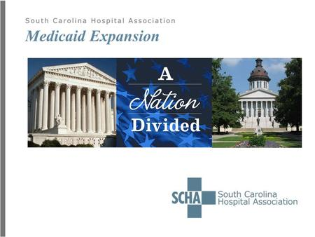 Medicaid Expansion. Well, now we know. Repeal is a long shot.