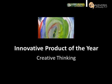 Creative Thinking Innovative Product of the Year.