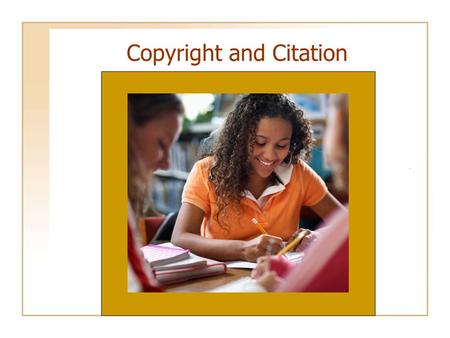 "Copyright and Citation. Plagiarism – A Persistent Problem "" I found your speech to be good and original. However, the part that was original was not good."