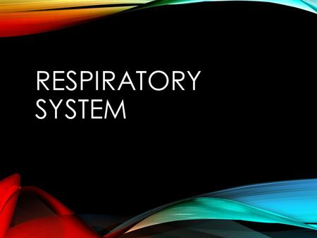 RESPIRATORY SYSTEM. HEALTHY LUNG VS. SMOKERS LUNG  https://www.youtube.com/watch?v=yIURbmJZxIg.