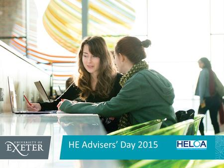 HE Advisers' Day 2015. National Networks for Collaborative Outreach.