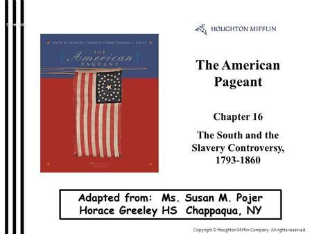 chapter 13 learning objectives ap american history apush 30 chapters in ap us history: exam prep expand all | collapse all course  practice test check your knowledge of this course with a 50-question practice  test.