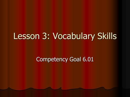 competency goal iii My goal is to have a positive attitude at all times,  a custom essay sample on competency statement iii complete  competency statement.