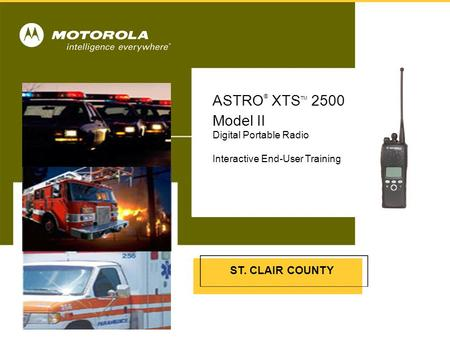 ASTRO® XTSTM 2500 Model II Cover Insert picture from