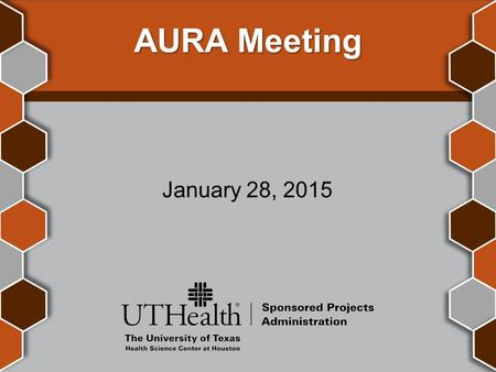 AURA Meeting January 28, 2015. Introductions Ronnie Perez Director, Post Award Finance.