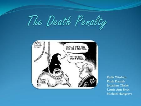 an introduction to the system of capital punishment in canada Provide an argument for the death penalty using rational choice/deterrence  many people believe capital punishment is a very barbaric form of  and canada the.