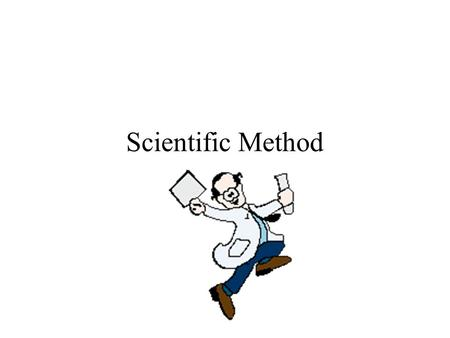 Scientific Method. Initial Observation Use your senses to observe -be objective (measure), not subjective (opinions) –See, hear, touch, taste, smell,