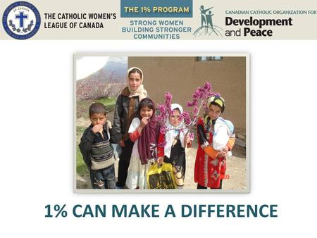 1% CAN MAKE A DIFFERENCE. The Afghan Women's Resource Centre (AWRC) The AWRC is supporting women in Sherhankhail village in Kapisa Province, Afghanistan,