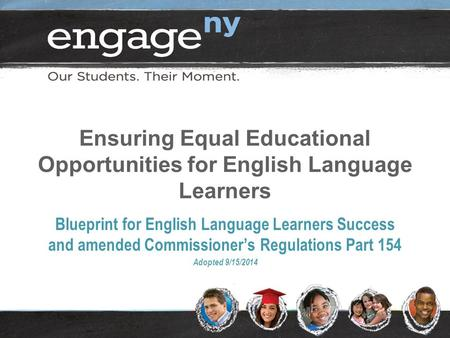Ensuring Equal Educational Opportunities for English Language Learners