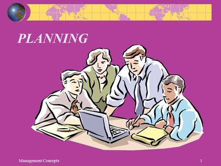 PLANNING Management Concepts.