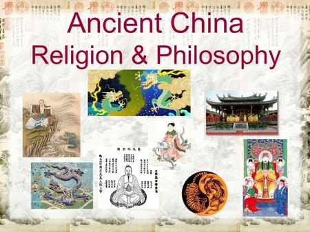 ancient world religions and philosophies essay Read this essay on religions of ancient  many religions around the world in modern time are still believed and followed by a large  philosophies, in search of.