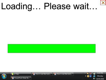 Loading… Please wait… It will take a bit <strong>of</strong> time to restart presentation.