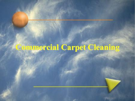 Commercial Carpet Cleaning. The Process - Overview 1.Prevacuum- What the janitor did last night doesn't count! 2.Spotting – Some stains are best removed.