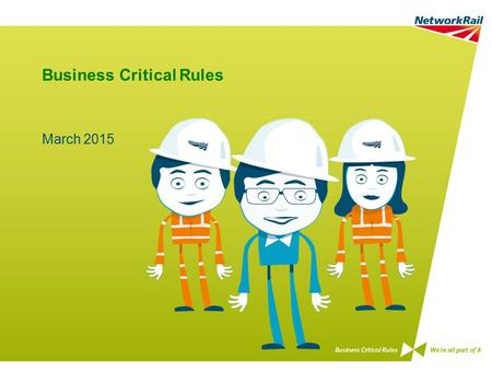 Business Critical Rules March 2015