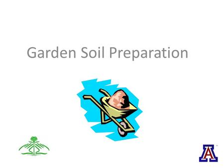 Garden Soil Preparation. Soils Soil Preparation Cover Crops Composting Vermiculture.
