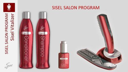 SISEL SALON PROGRAM SISEL SALON PROGRAM Sisel Vitalizer.