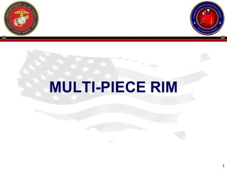 1 ENGINEER EQUIPMENT INSTRUCTION COMPANY MULTI-PIECE RIM.