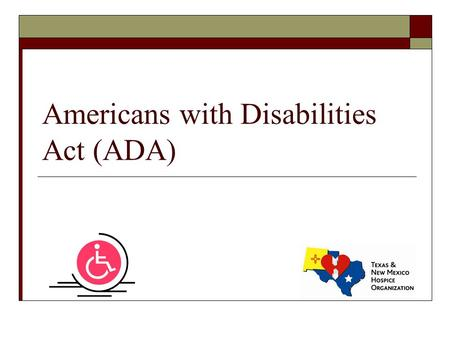 Americans with Disabilities Act (ADA). Rehabilitation Act of 1973  The U.S. Rehabilitation Act of 1973 prohibits discrimination on the basis of disability.