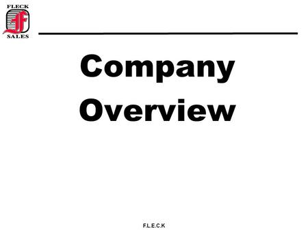 Company Overview.