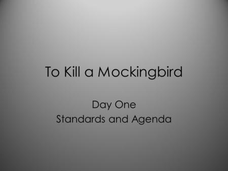 to kill a mockingbird final draft Level 4 module to kill a mockingbird by harper lee (all drafts, final draft on top) - (1) ela 11a level 4 module- date begun:to kill a mockingbird by harper lee.