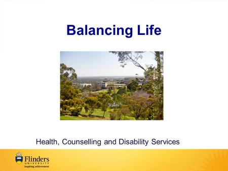Balancing Life Health, Counselling and Disability Services.