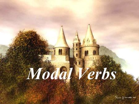 Modal Verbs. can & could Man cannot live without air. ---- 能力 SARS can be very dangerous. ---- 可能性 You can have the book when I have finished it. ----