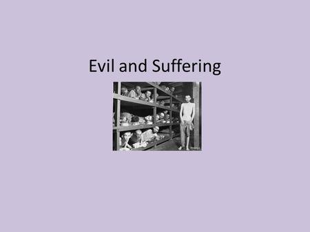 Pain and suffering in philosophy?