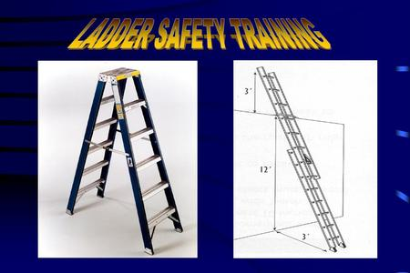 In 1998 the Bureau of Labor and Statistics recorded 8,568 injuries due to occupational ladder falls: 41 of the falls resulted in fatalities 41 of the.