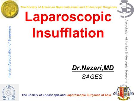 Laparoscopic Insufflation