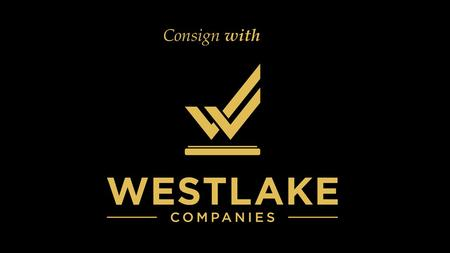 Consign with. Consign with Westlake Companies www.WestlakeCompanies.com 805.496.4969 x225.