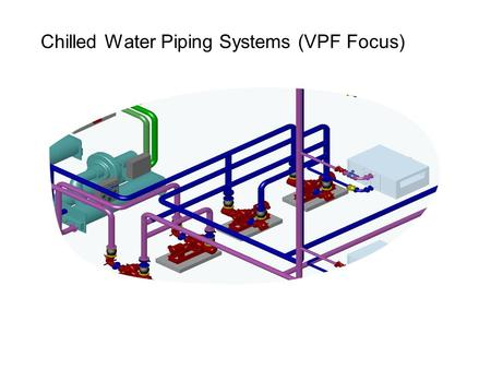 Chilled Water Piping Systems (VPF Focus). Agenda – Chilled Water Distribution Systems Chilled Water Distribution Systems Primary (Constant) / Secondary.