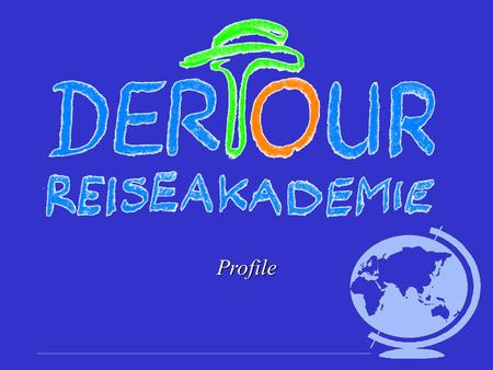 Profile.  established in 1974  the 36 th Reiseakademie in 2008 will take place in Toronto, Canada  best known promotion event in the travel industry.