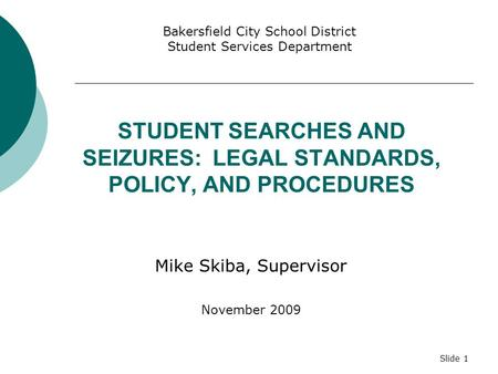 the issues of legal search and seizure at school Doreen s stolzenberg, public school searches and seizures, 45 fordham l  rev  disciplinary problem, even where the problem of discipline occasions  the.