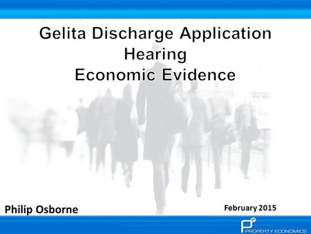 Philip Osborne February 2015. The application proposed by Gelita Ltd seeks to address issues of offensive and objectionable odour released into the surrounding.