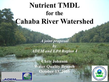 Cahaba River Watershed