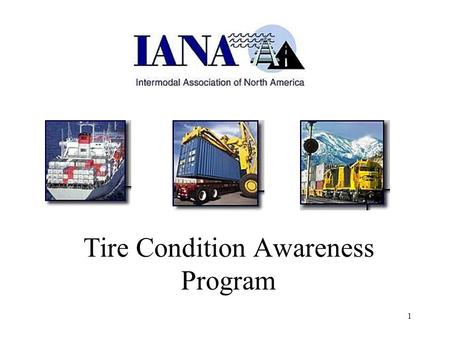 1 Tire Condition Awareness Program. 2 In the following pages you will learn about tires and why tires fail. Recognizing tire condition and failures can.