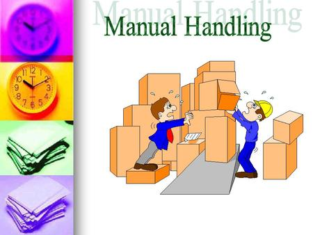 manual handling what is it