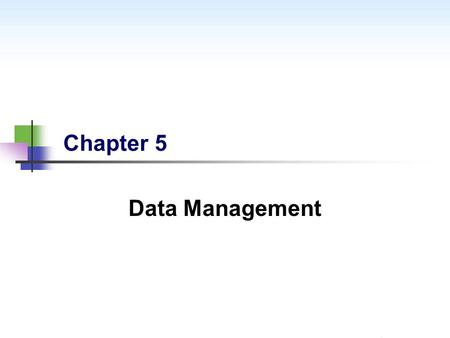 Chapter 5 Data Management. www.TechnologyOnCloud.com – The Best & Most Convenient Way to Learn Salesforce.com 2 Objectives By the end of the module, you.